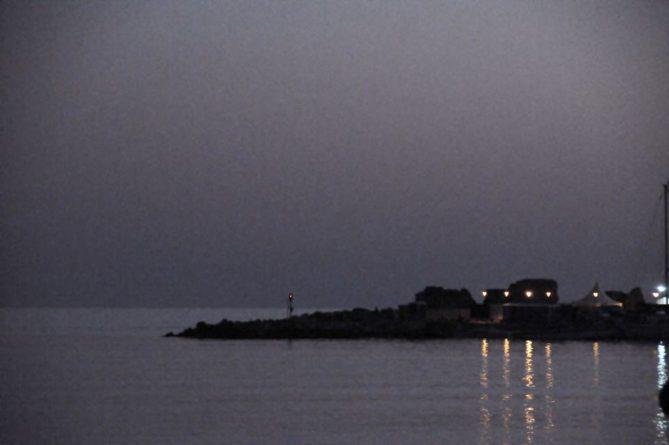 Cyrpus at night