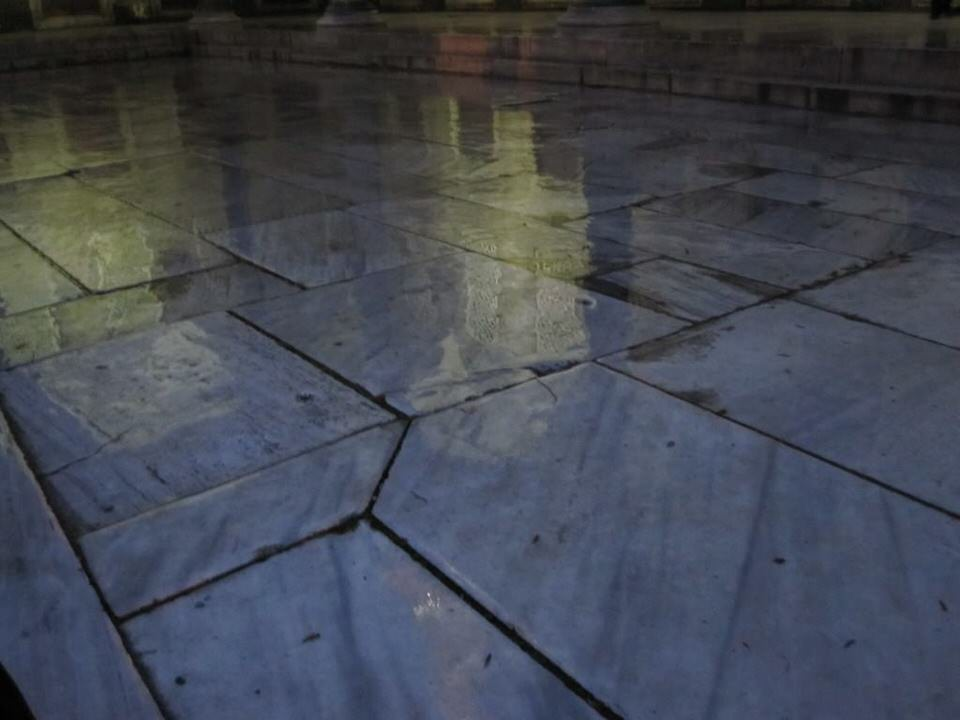 Marble floors in Turkey