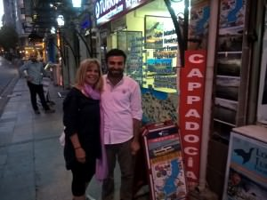 Outside the travel agency, Turkish Negotiation, The Art of Compliments