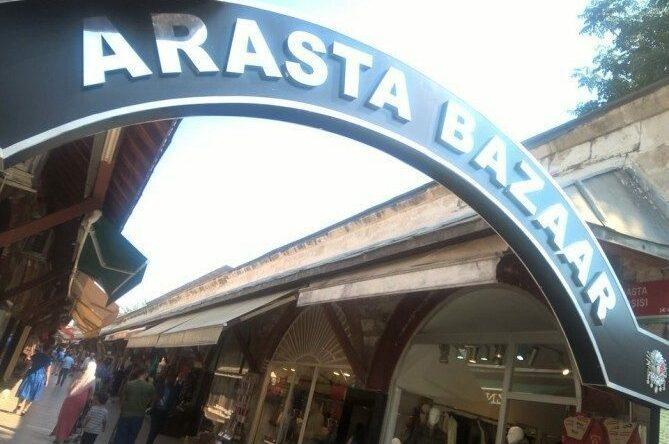 Arasta Bazaar in Istanbul, Turkey