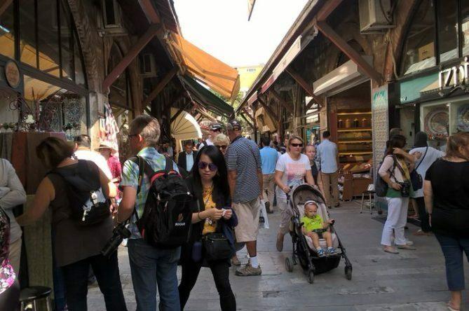Arasta Bazaar, No Touching Men in Turkish Bazaars