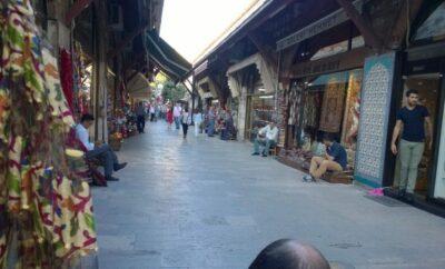arasta bazaar dawn