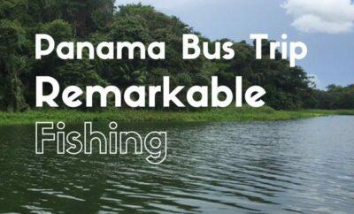 Panama bus fishing trip
