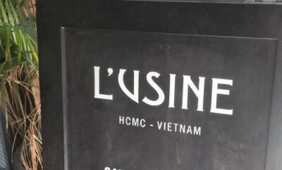 Tastes of Ho Chi Minh City Vietnam, L'Usine Ho Chi Minh Vietnam