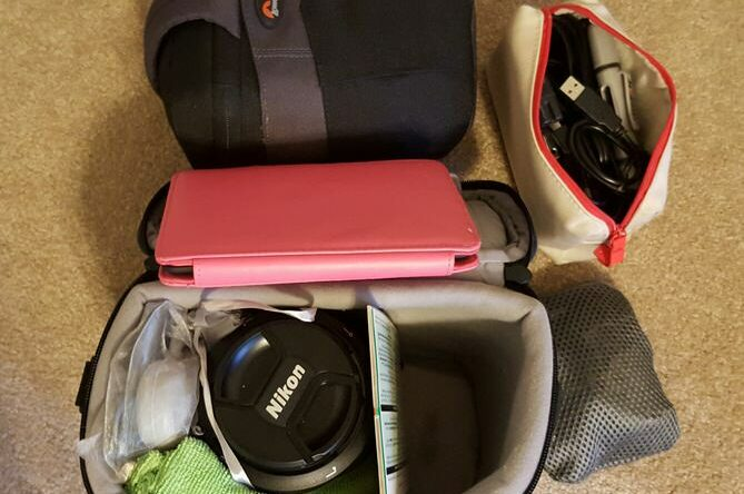 Camera Packing list