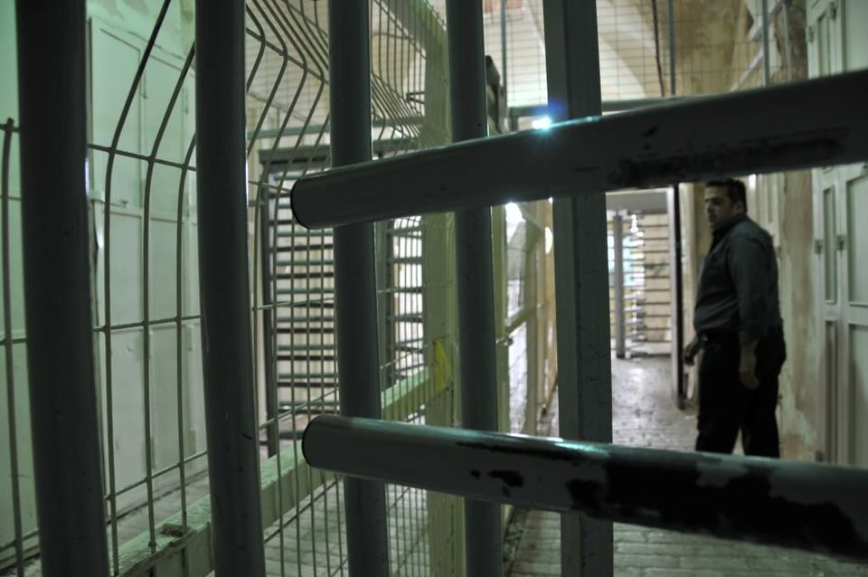 Secured halls on the way to the Tombs, Hebron, Palestine, Tombs of the Patriarchs