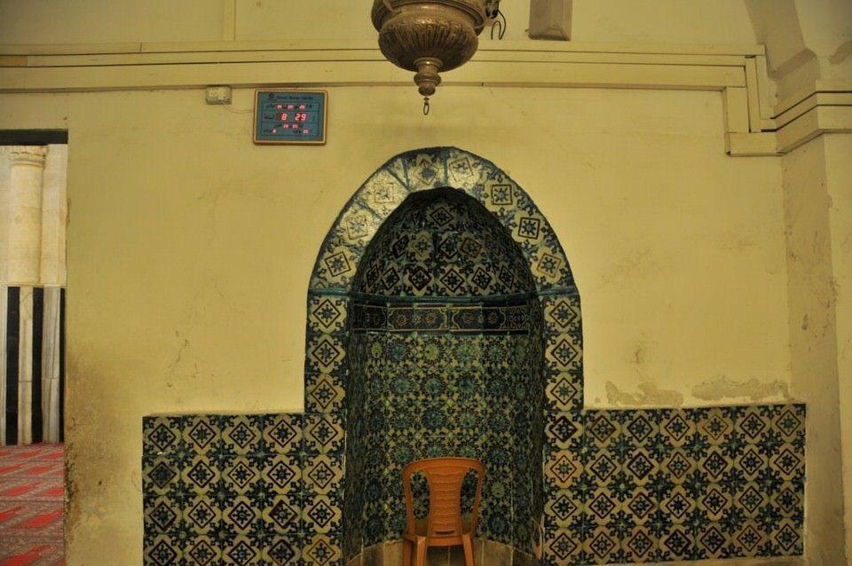 Amazing tilework, Hebron, Palestine, Tombs of the Patriarchs