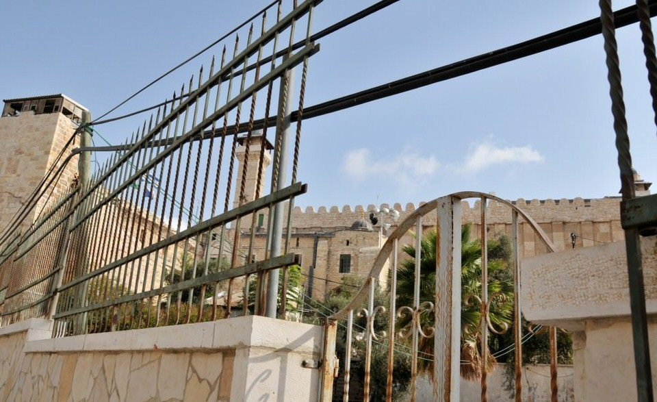 Gates at Hebron, Palestine, Tombs of the Patriarchs