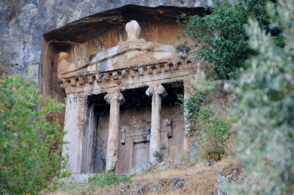 Lycian Tombs, Best Sights Fethiye Southern Turkey