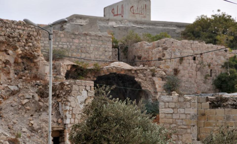 Patriarchs Tomb, the Cave of Machpelah,Tombs of the Patriarchs and the Cave of Machpelah