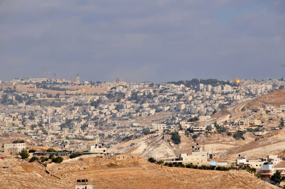 Jerusalem on the way to Ramallah Palestine