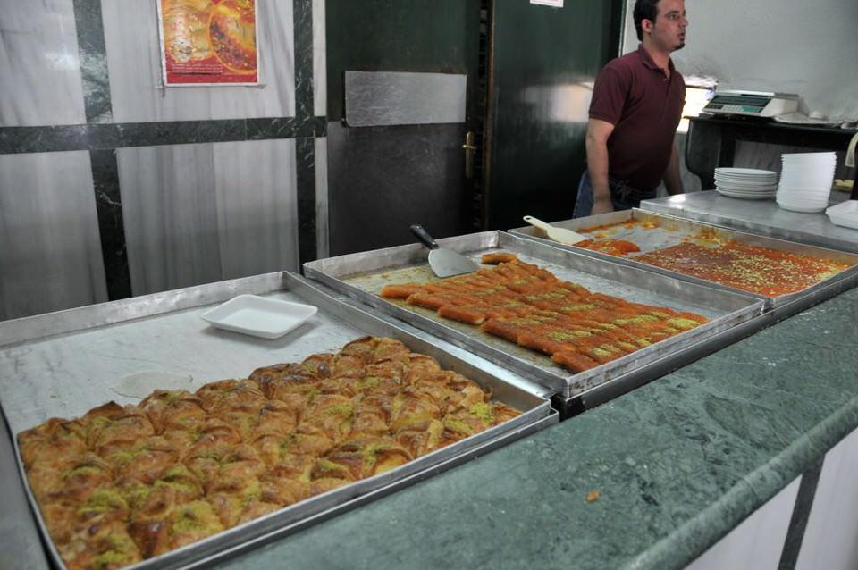 Pastries in Ramallah Palestine