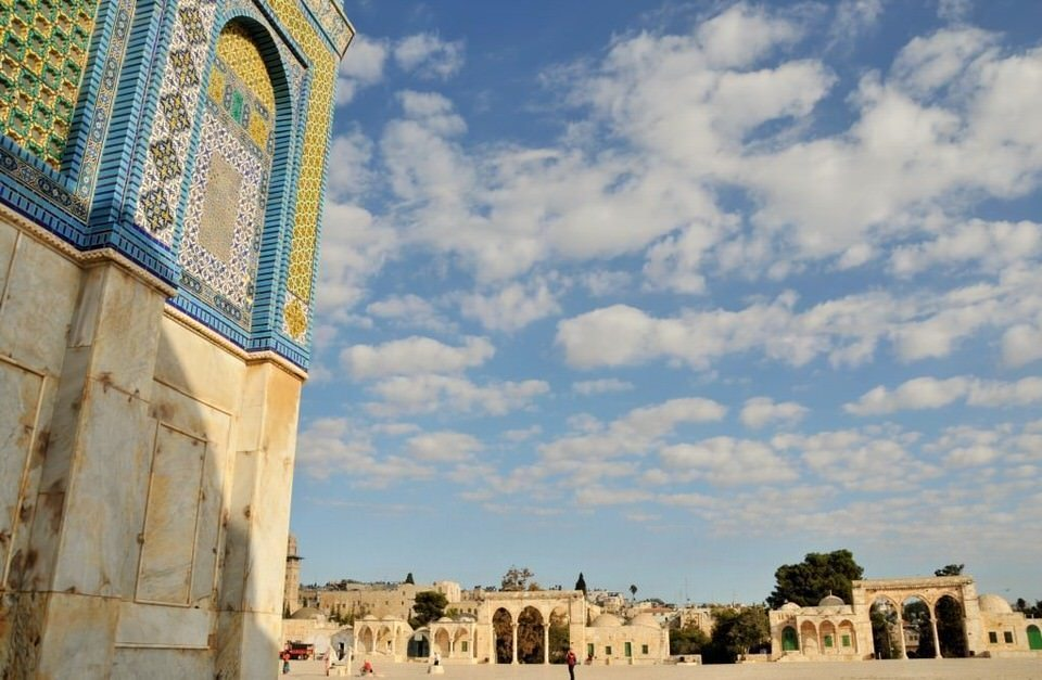 The Temple Mount (Haram Es Sharif), Dome of the Rock
