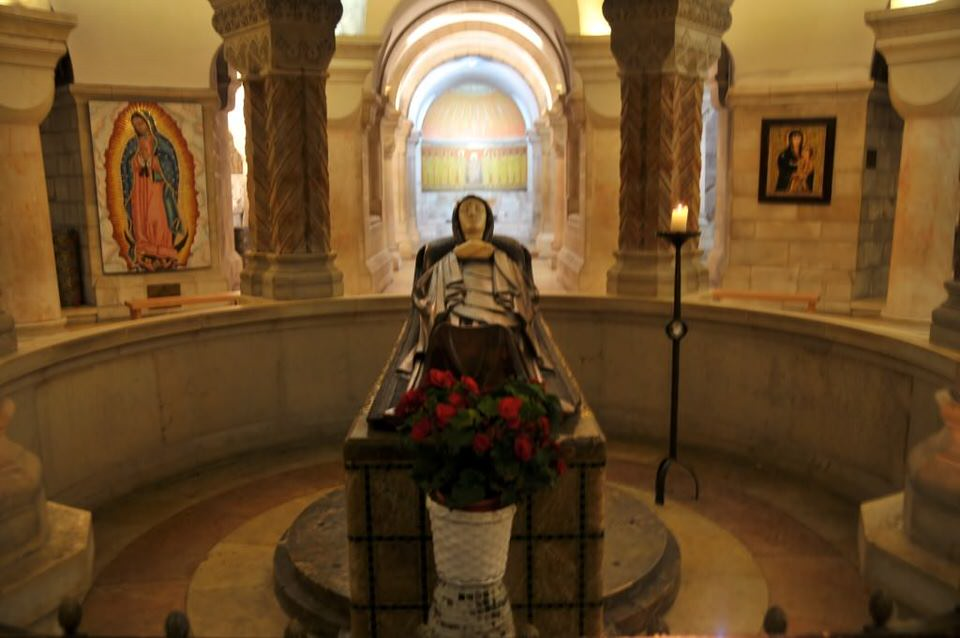 Best Places in Jerusalem, Mary's Burial Tomb