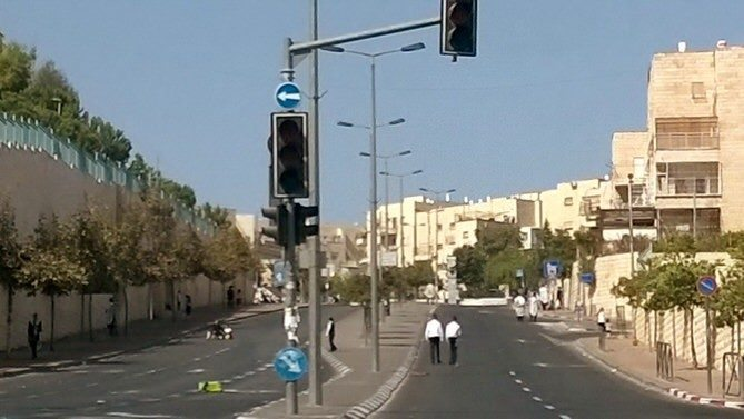 Israel's Religious Holidays No Driving Allowed