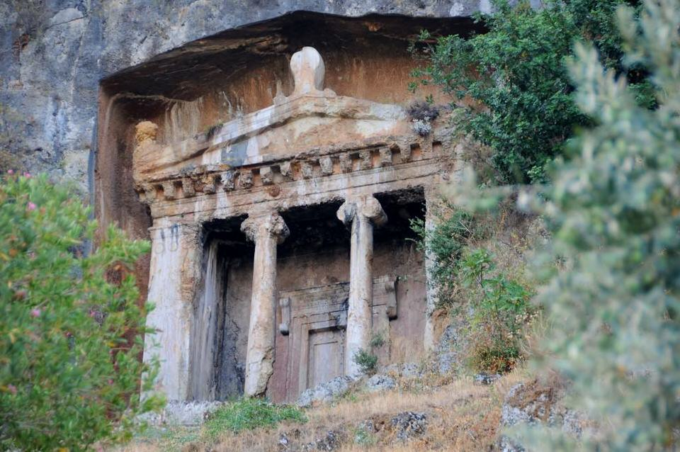 Lycian Tombs Fetheyi Turkey, Road Less Traveled - Turkey