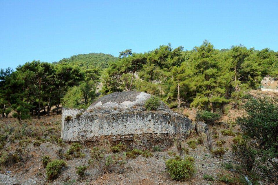 Lycian Tombs Fethiye, Turkey