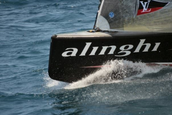 Alinghi, America's Cup, by K Green