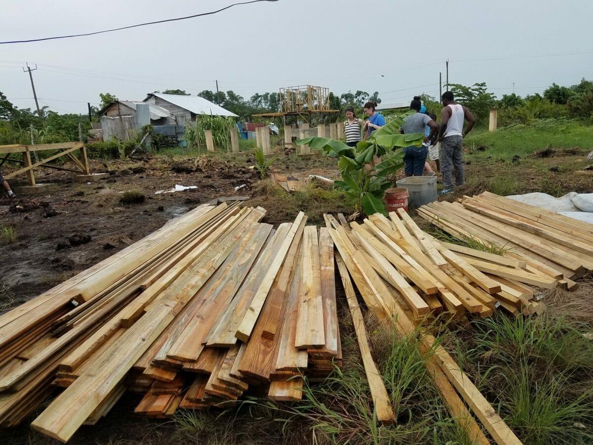 Volunteer Travel, Belize Mission Trip - Building a Home