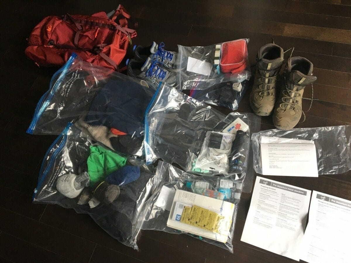 Best Frugal Travel Tips and Hiking Packing List