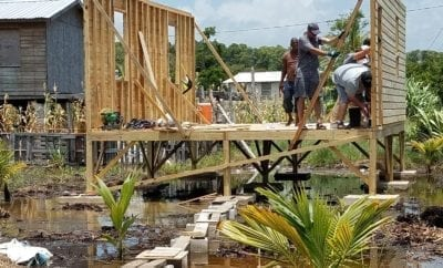 Volunteer Travel, Belize Mission Trip - Building a Home