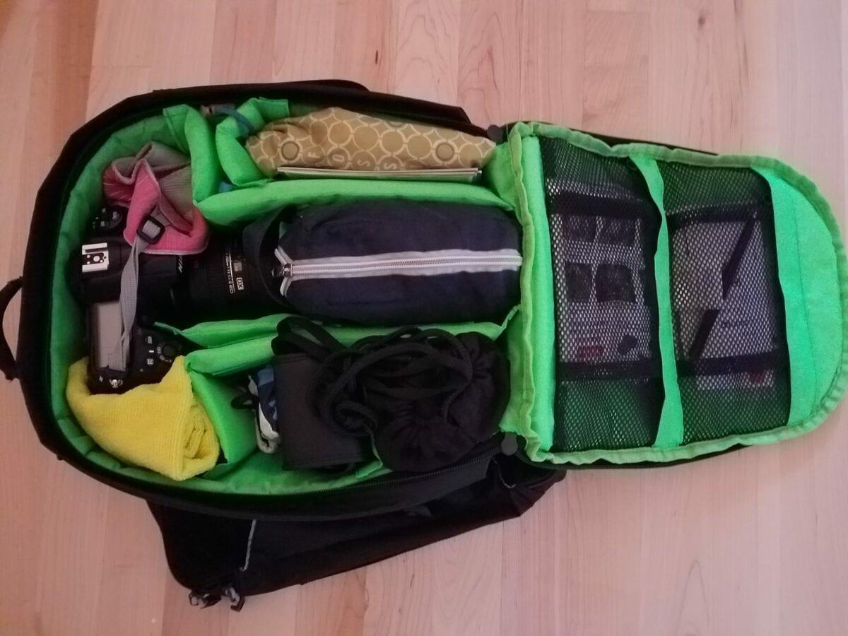 Travel Camera Bag Packing List