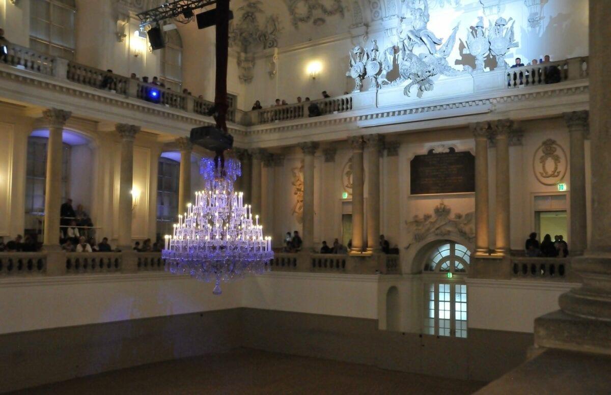 The World Famous Lipizzaner Stallions show hall