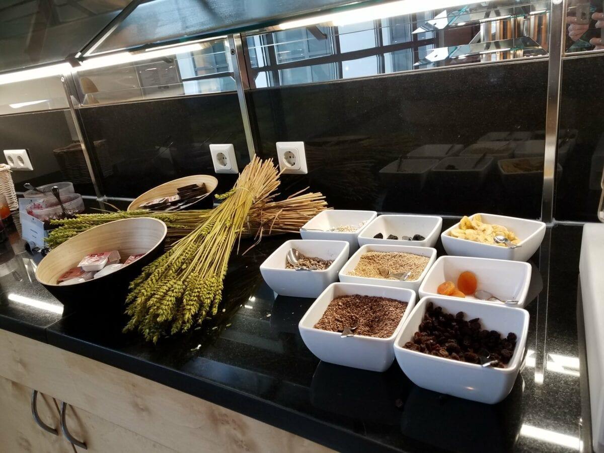 H+ Hotel Berlin, food around the world