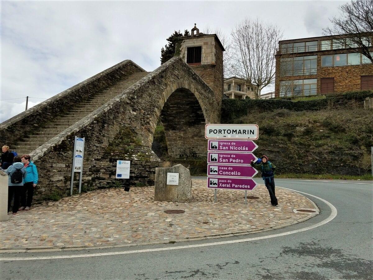 Palas de Rei, the hilly roads