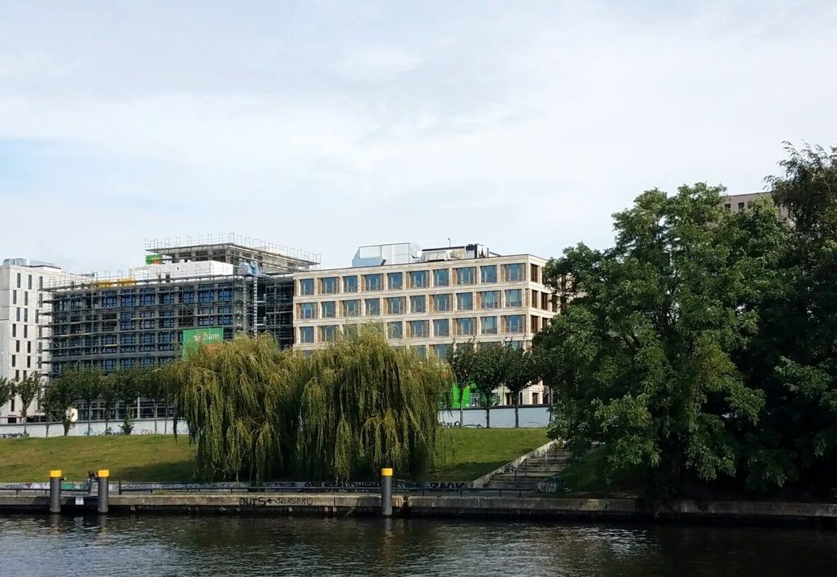 berlin boat cruise, spree river