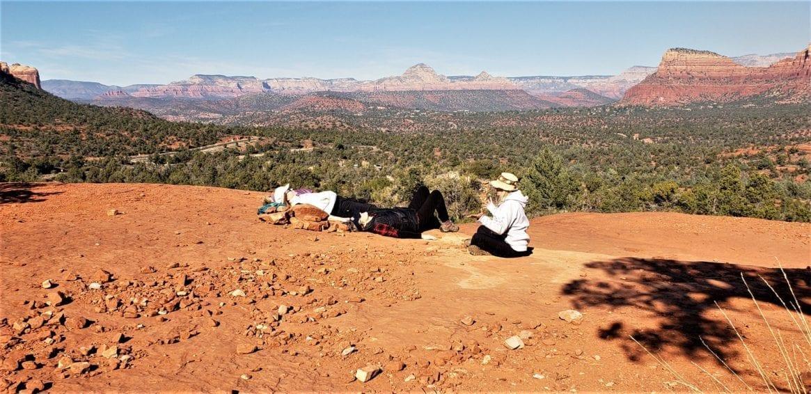 sedona arizona yoga on location