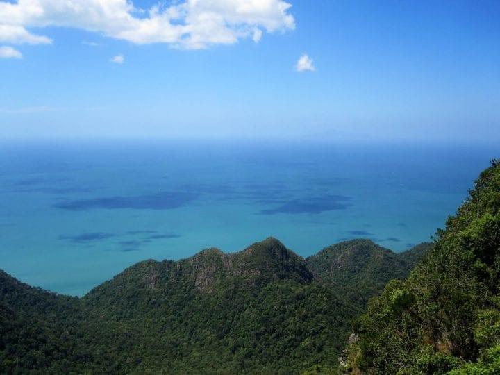 Scenic views of Langkawi.