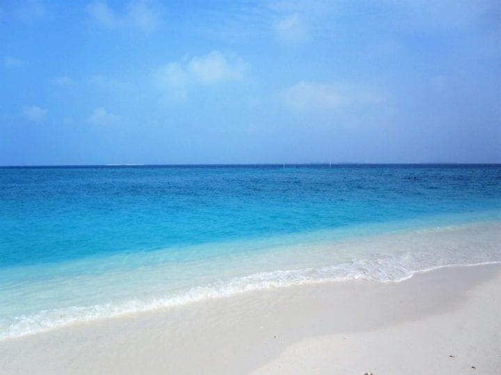 Utheemu Island in the Maldives.