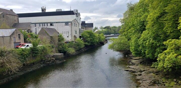 river eske. homeland, donegal, ireland