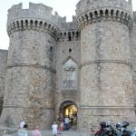 Castle Entrance, Rhodes, Greece, old city