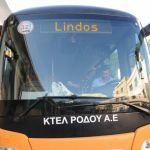 bus, Lindos bus, Lindos, Greece,