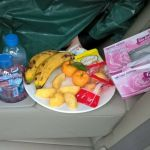 food inside car